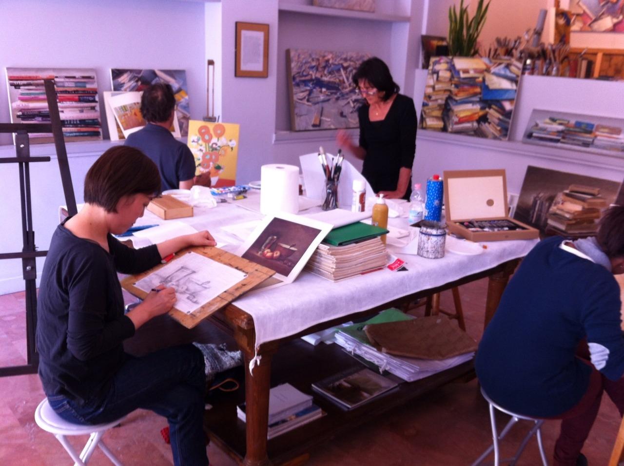 Laboratorio di disegno e pittura con Andrea Mancini