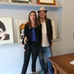 SaraPope e Daniel Syrett in Florence