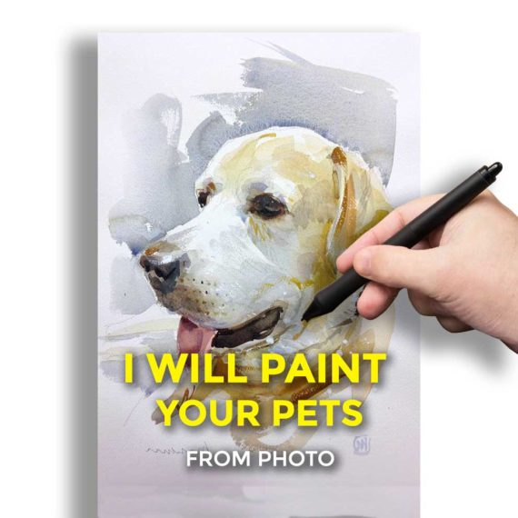 I will paint you pets