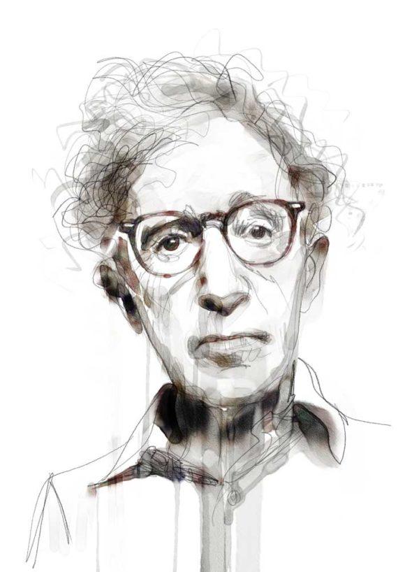 Woody Allen by Andrea Mancini