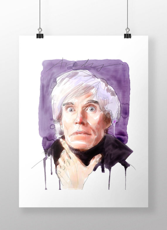 Andy-Warhol by Andrea Mancini
