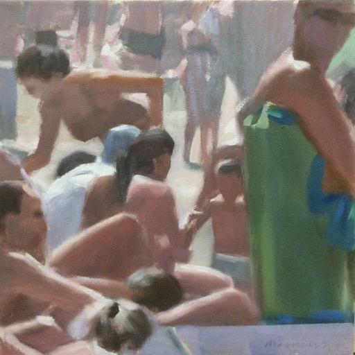 "Andrea Mancini ""I Bagnanti"" #01536"