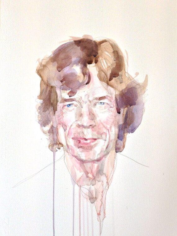 Mick Jagger portrait