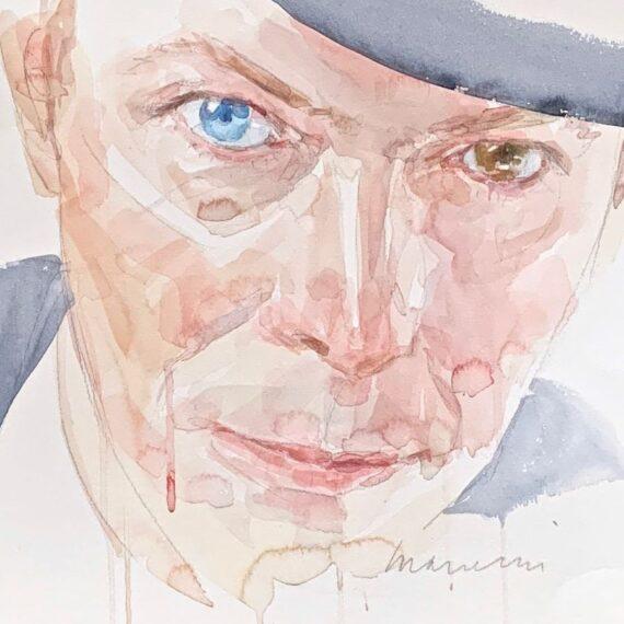 David 2016 watercolor 50x35