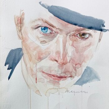 David Bowie watercolor